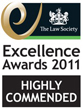 Law Society Highly Commended Award