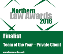 Law Team of The Year - Private Client