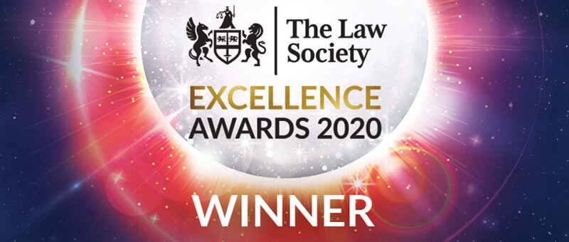 The Law Society Excellence Awards Winner 2020