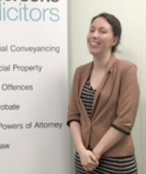 Amber Hobson Legally Trained Assistant Emmersons Solicitors Newcastle