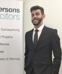 Calvin Walker Trainee Solicitor Emmersons Solicitors Newcastle and Sunderland