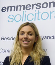 Laura Dobson, Trainee Solicitor